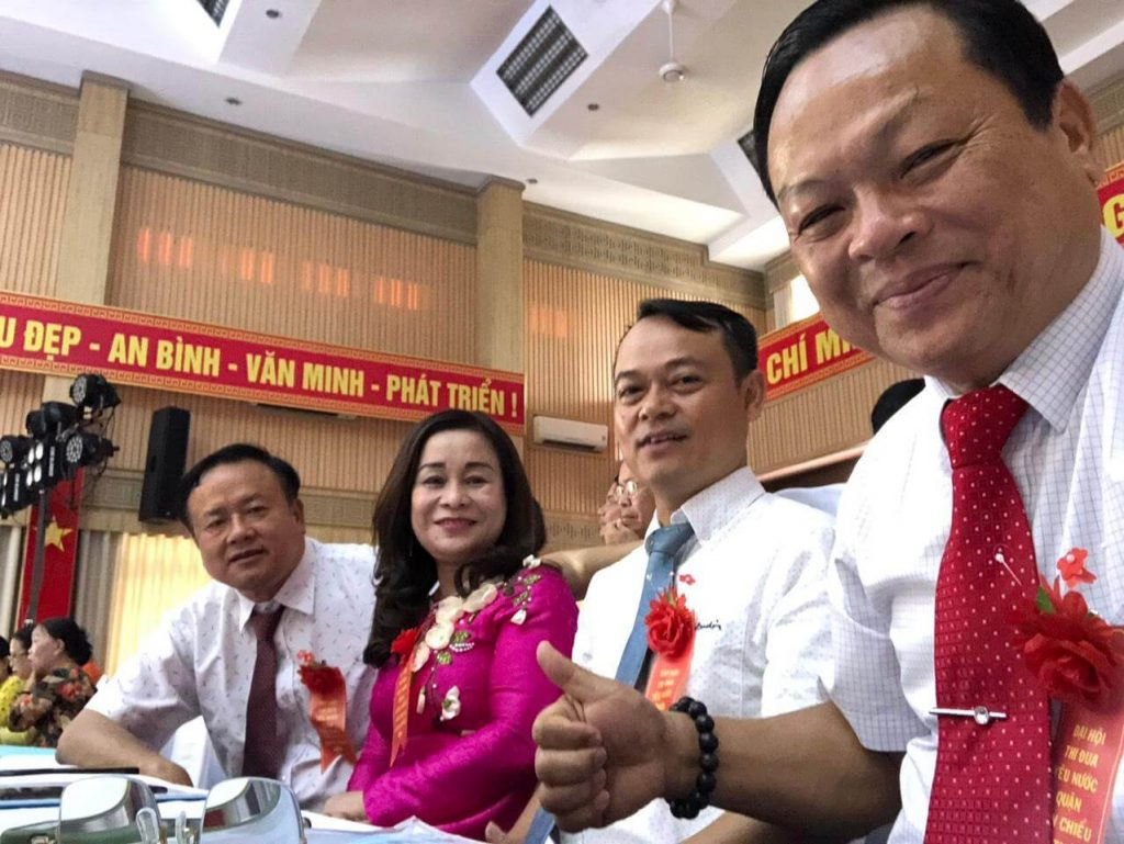 cty Hương Quế tại đại hội thi đua yêu nước Q Liên Chiểu, Đà Nẵng 4