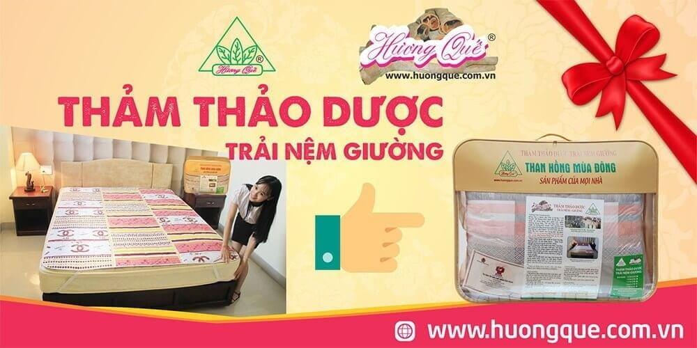 Thảo dược trải đệm giường Hương Quế